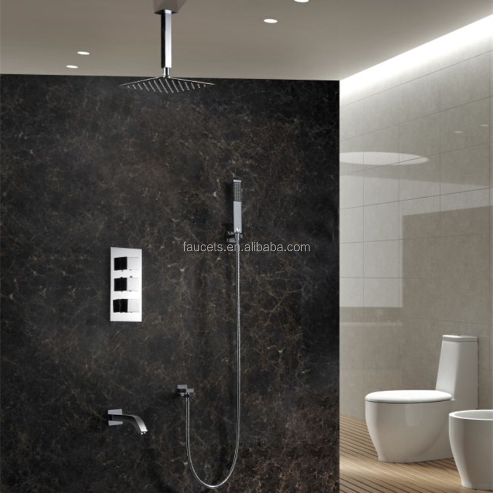 Concealed Thermostatic Shower Mixer with Thermostatic Valve