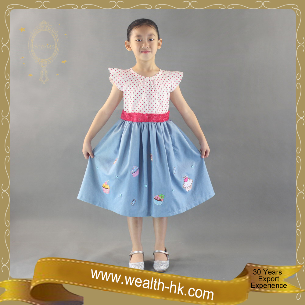Pretty Little Girls Princess Causal Dress