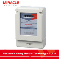 Single Phase Front Panel Mounted Energy Meter Power Meter