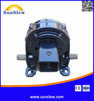 Sunslew VD6 vertical slewing worm drive gearbox for PV CPV CSP renewable energy