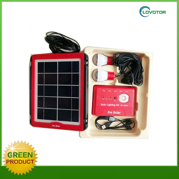 LED solar panel kit 5W solar power system home LY-0101