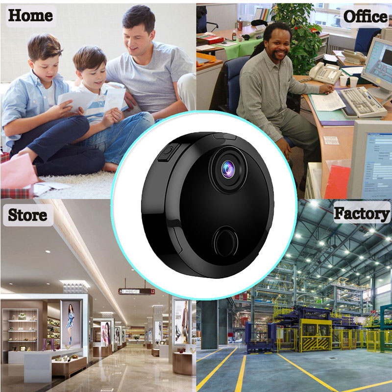 Wholesale HD 1080p indoor and outdoor security mini spy ip cctv camera