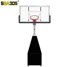 wholesale cheap PC/acrylic backboard covered by steel sheet heavy duty basketball system for training