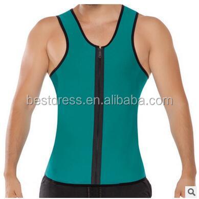 Waist Training Corsets For Men Neoprene Hot Shapers Body Shaper Slimming Vest Training Corsets Gym Sport Loss Weight