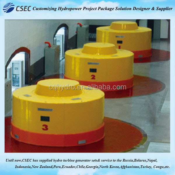 High Quality Yellow Water Turbine Generators/Mini Water Powered Generators