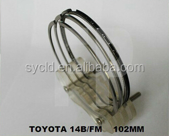 35895/2FAC piston ring 13011-58050 13011-58072 13011-58051 9-9733-00