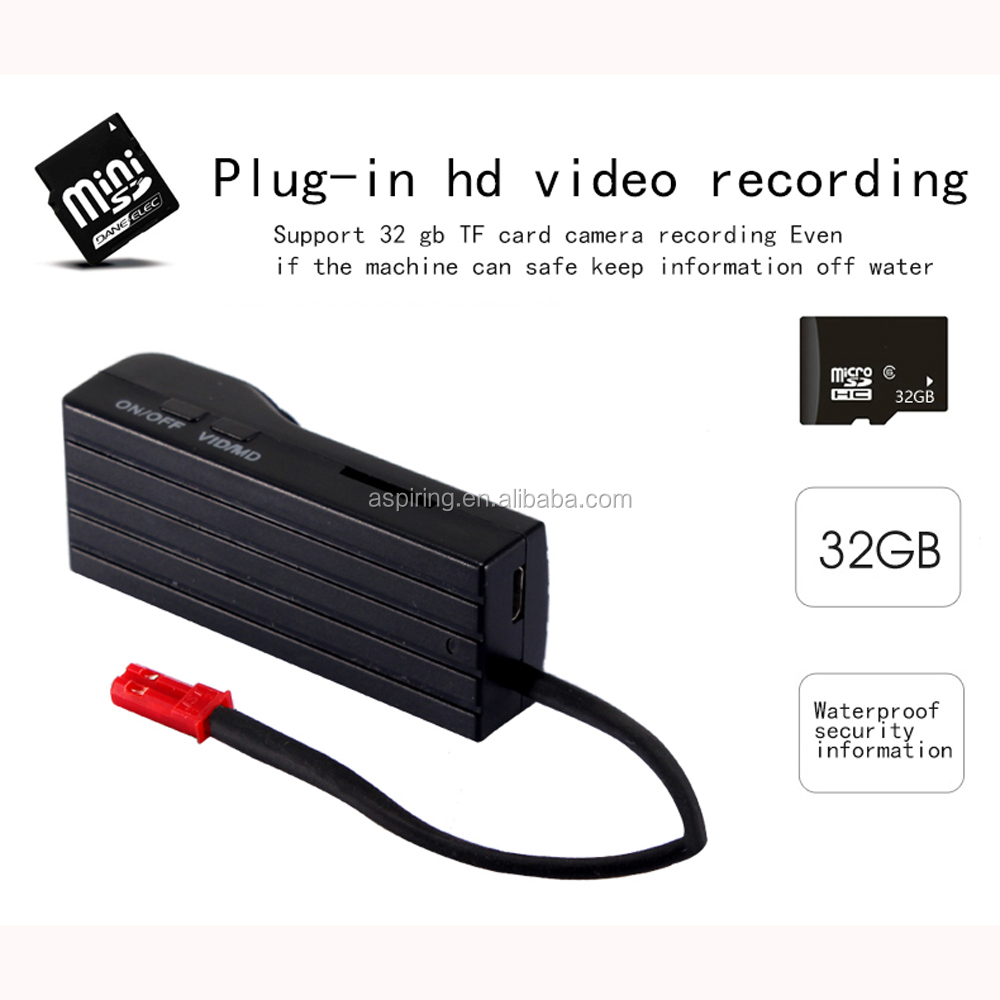 Full HD 1080P mini Button camera spy Hidden DV button hole camera