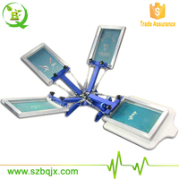 4 Color 1 Station Portable Screen Printing Machine BQ41