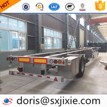 carbon steel truck trailer, container trailer, low bed trailer 100 ton