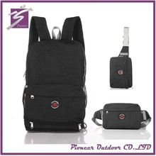 BSCI factory audit 4p Durable Packable Lightweight Travel Hiking Backpack for wholesale