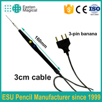 ELECTROSURGICAL PENCIL ESU Push Button Blade Electrode