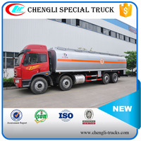 FAW 40m3 8x4 8x8 RHD Fuel Refilling Truck Oil Transport Vehicle