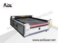 AOL1325 1300x2500mm Ad, Model airplane, Acrylic, Crystal, Fabric, Textile, Leather, Paper label co2 auto feeding laser cutter