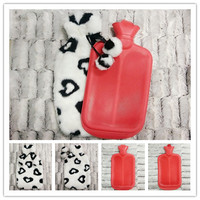 Various Heart Design plush Hot Water Bottle With Cover