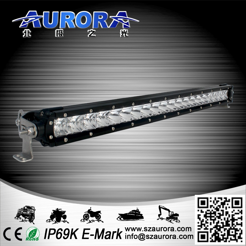 2016 Newest high power single row cheap light bar led off road vehicle