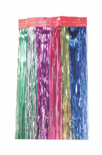 Wholesale High Quality Christmas Tinsel Garland, Christmas Oranment, Colors Party Wig