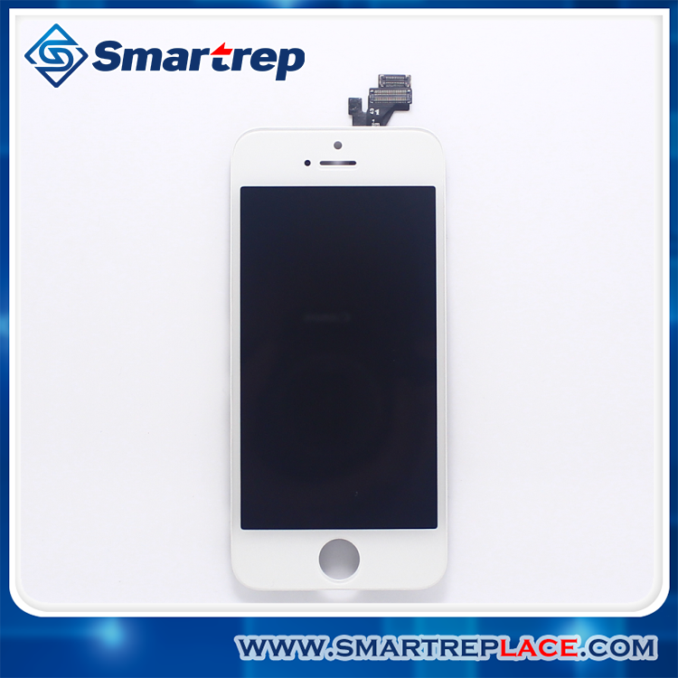 100% Brand New Lcd with touch digitizer screen assembly For iPhone 5 LCD display with digitizer Frame