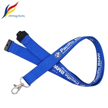 Hot Sale Factory Personalize Silkscreen Print Logo Safety Breakaway Lanyard Keychain