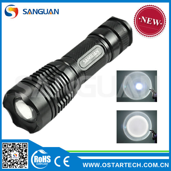 CE & ROHS approved high lumes bright best torch light led flashing torch