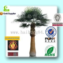 2015 indoor or outdoor artificial washington palm tree/artificical tropical trees/ artificical plants decoration manufactory