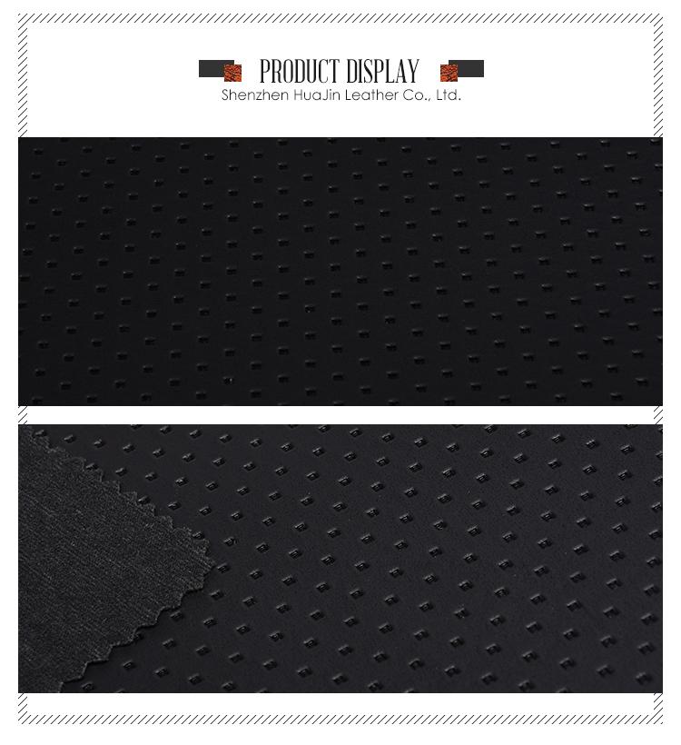Custom Design Durable Pu Fabric Synthetic Leather