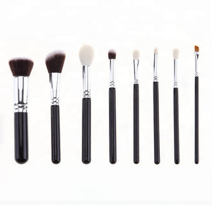 Drop shipping high quality 8pcs makeup brush set. Customizable private label
