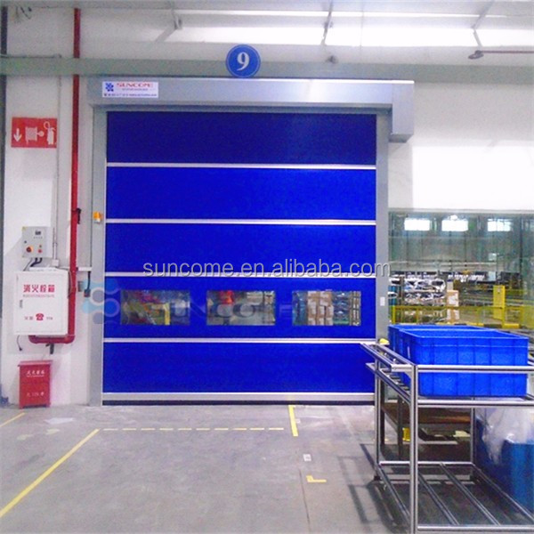 interior insulated platic fast roller shutter with better sealing