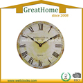 28cm Home Decorative Antique Round MDF Wall Clock