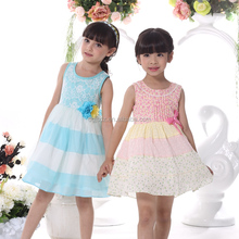 Fashion Dresses For 2-8 Years Childl Dress Factory Wholesale Price Boutique Girl Dress
