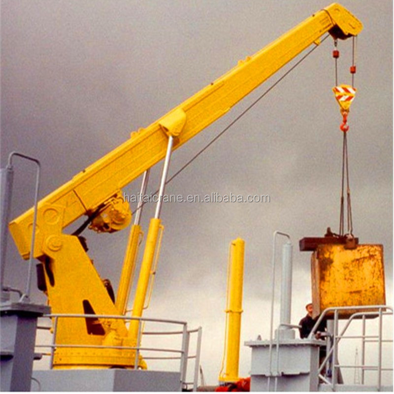 Fixed Pedestal Jetty Crane