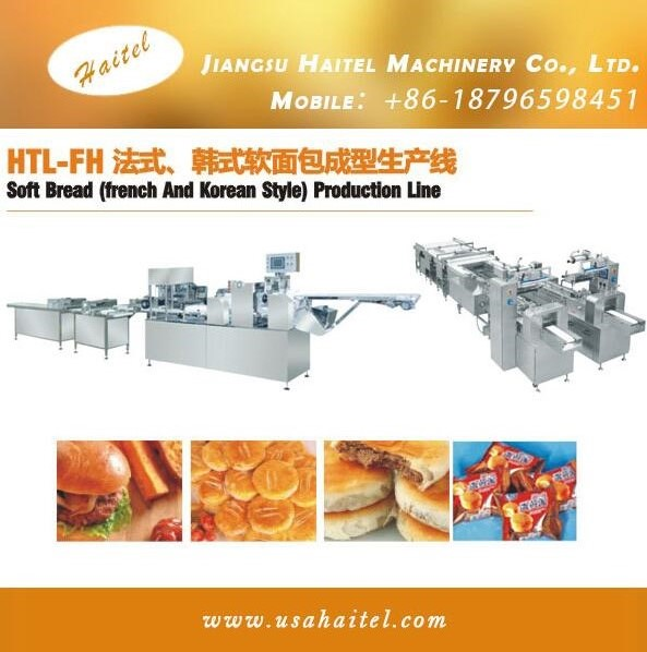 Custom Made 2016 Bakery Machines Bread Forming And Packign Machine Making French and Korean Style Bread