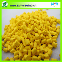 Yellow color masterbatch with Jiangsu master batch manufacturer for PP/PE/PET at low price