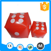 Cheap promotional inflatable pvc dice with CE certificate