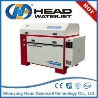 HEAD 420 MPa UHP water jet cutting machine with 37kw pump