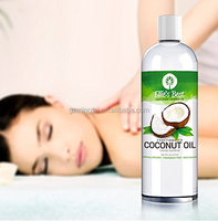 Cosmetic Grade Pure Fractionated Coconut Oil - 16OZ as pure essention oil diluting carrier oil used for massage