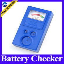 Watch coin cell button reliable convenient plastic battery tester checker with large clear white screen