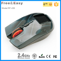 Well-design solar power wireless mouse