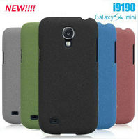 New Matte Sand Rock Hard PC Back Cover Case for Samsung I9190 Galaxy S4 Mini