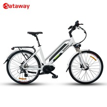 Sataway high quality electric city e bike with bafang max mid drive system / cruisers commuter trekking bicycle