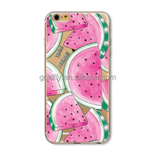 Fruit Pineapple Lemon Banana Fashion Soft Silicon Transparent Thin Case Cover For Apple iPhone 4 4S 5 5S 5C 6 6S 6Plus 6s Plus