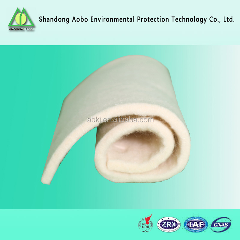Great varieties 100% Environmental protection wool felt/ wool batting