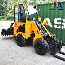Chinese small farm tractor with front loader for sale