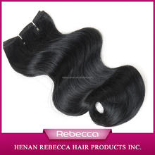 Rebecca wholesale Noble hair Synthetic Weaving Hair Extension for black girl