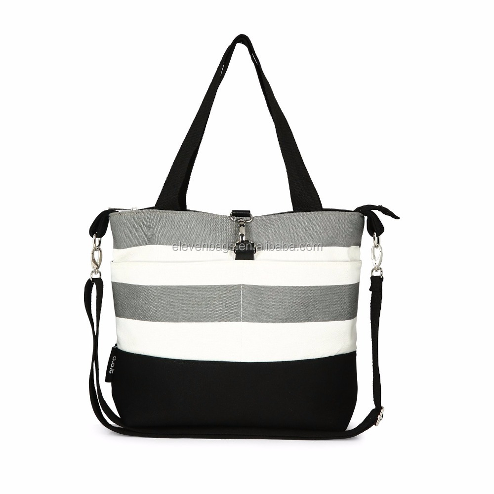 Amazon Mommy Cotton Canvas Baby Insular Diaper Bag
