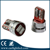 Original factory price t10 multiple color CE&ROHS 2 smd car led canbus 5630 t10 bulb