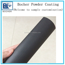 matte smooth black thermosetting spray powder coating for metal parts