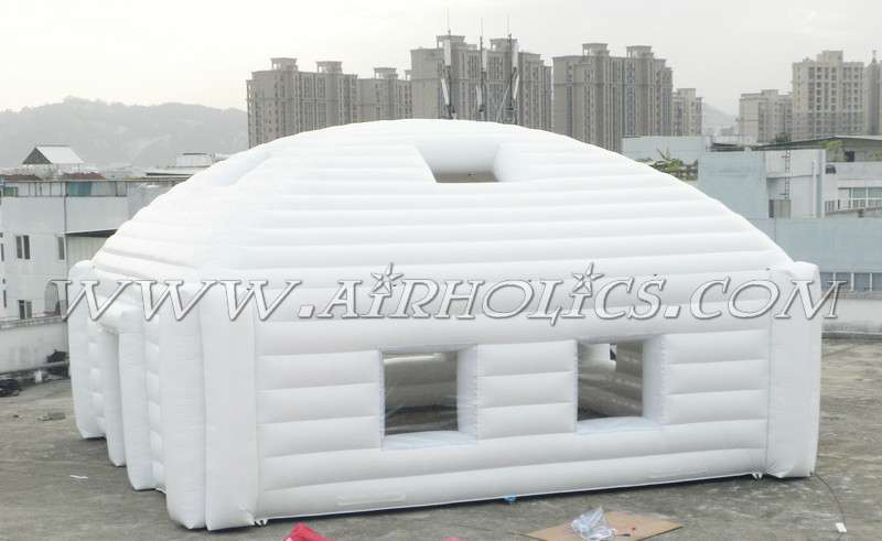 Beautiful LED lighting inflatable tent,square tent inflatable