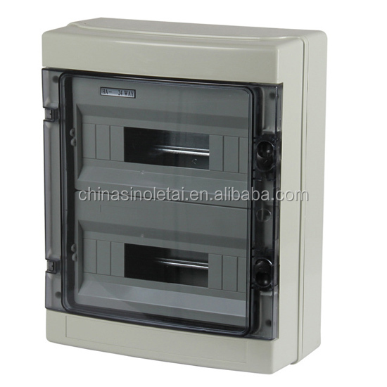 2017 hotsale Plastic electrical MCCB distribution panel box