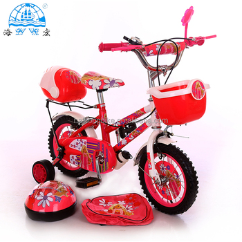 Best popular lovely children bicycle with ISO9001 made in china kids bike with schoolbag