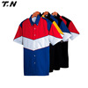 Motor racing button shirts wholesale